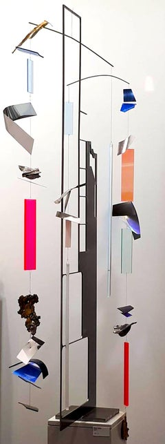 Mobile Movements  by K. Vollet - sculpture with moving parts