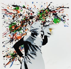 Drip Remover, Kunstrasen - Contemporary Street Art Print