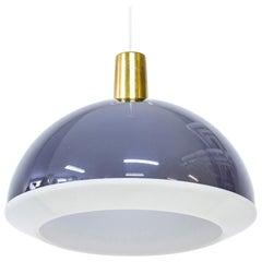 """Kuplat"" Pendant Lamp by Yki Nummi for Idamn, Finland, 1960s"