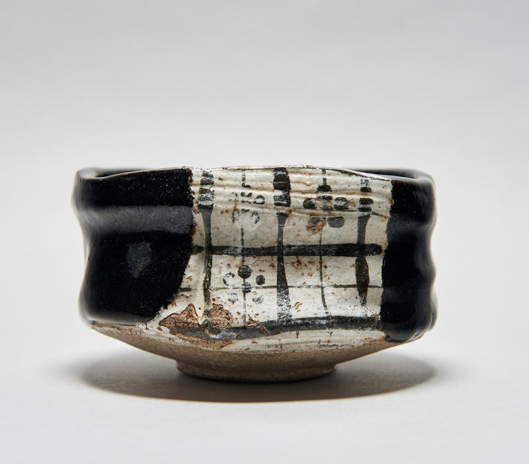 Kuro-Oribe Chawan / Tea Bowl For Sale 5
