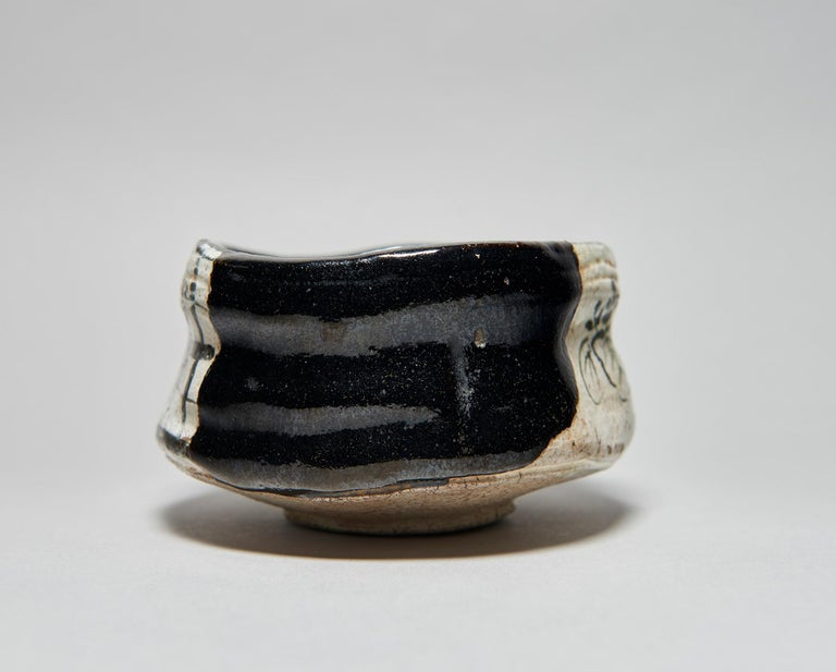 Kuro-Oribe Chawan / Tea Bowl For Sale 1