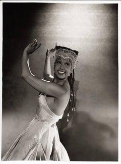 The dancing Josephine Baker