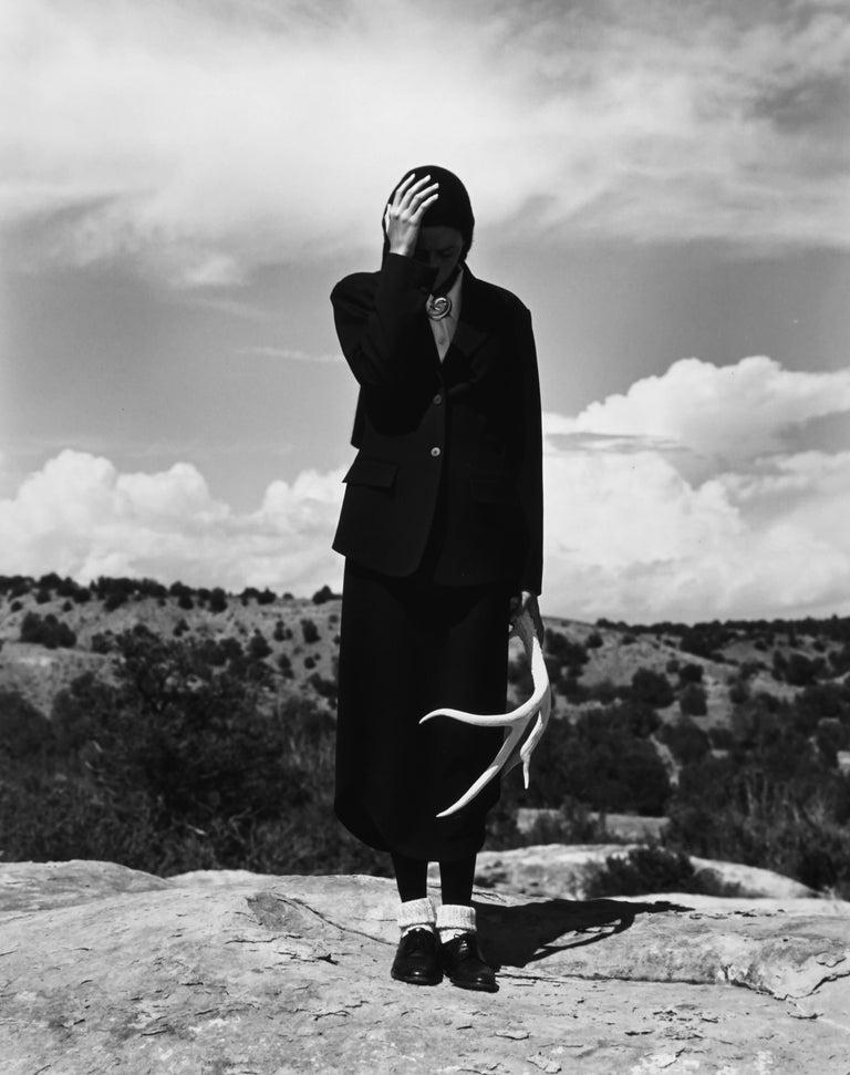 Cynthia Antonio, Santa Fe, NM - Photograph by Kurt Markus