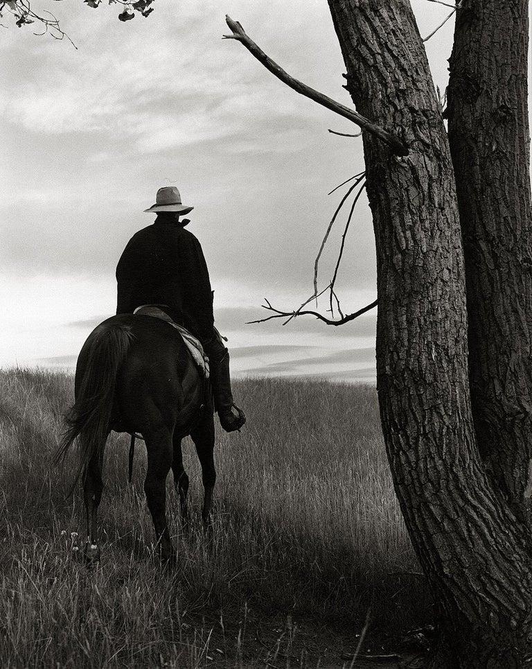 Kurt Markus, Arthur, Y's for Living, Triangle Ranch, Nebraska, 1987 - Photograph by Kurt Markus
