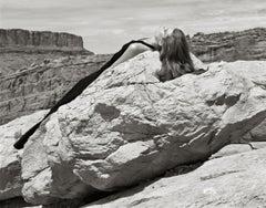 Kurt Markus, Louise, Flair Magazine, Moab, Utah, 2004