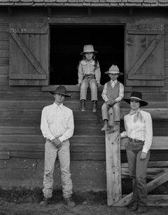 Larry, Reata, John, and Toni Schutte, Maggie Creek Ranch, Carlin, Nevada