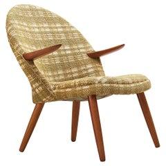 Kurt Olsen for Glostrup Møbelfabrik Lounge Chair in Teak