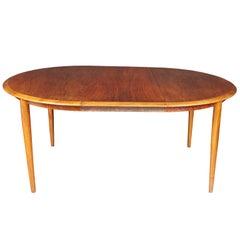 Kurt Ostervig Danish Modern Walnut Dining Table