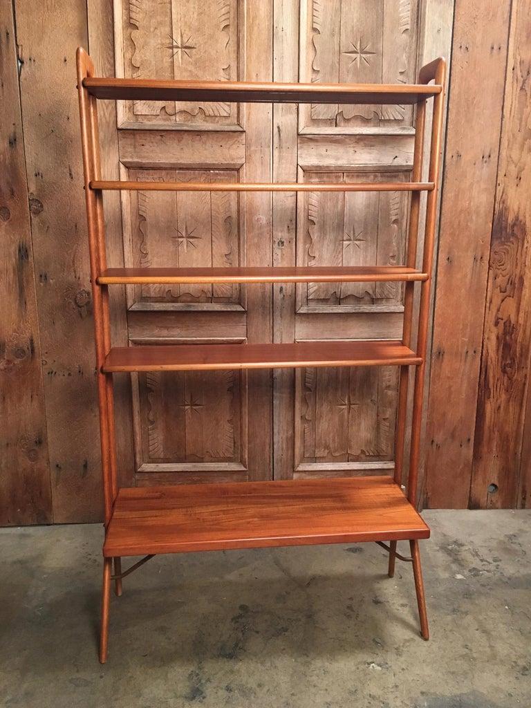 Kurt Ostervig Danish Teak Adjustable Bookshelf and Room Divider For Sale 3