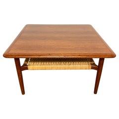 Kurt Ostervig for Jason Mobler Danish Teak Coffee Table Circa 1960s