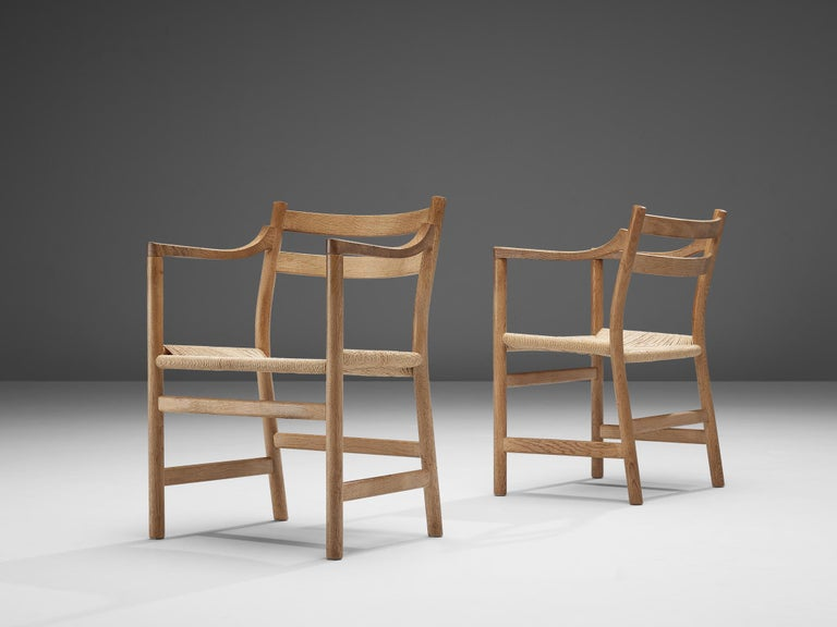 Kurt Ostervig for KP Møbler Set of Four Dining Chairs in Oak 3