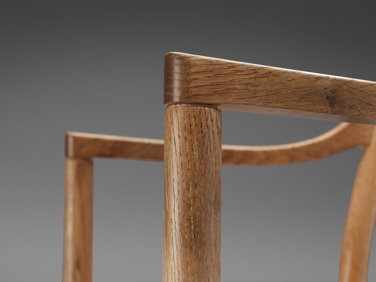Kurt Ostervig for KP Møbler Set of Four Dining Chairs in Oak In Good Condition In Waalwijk, NL