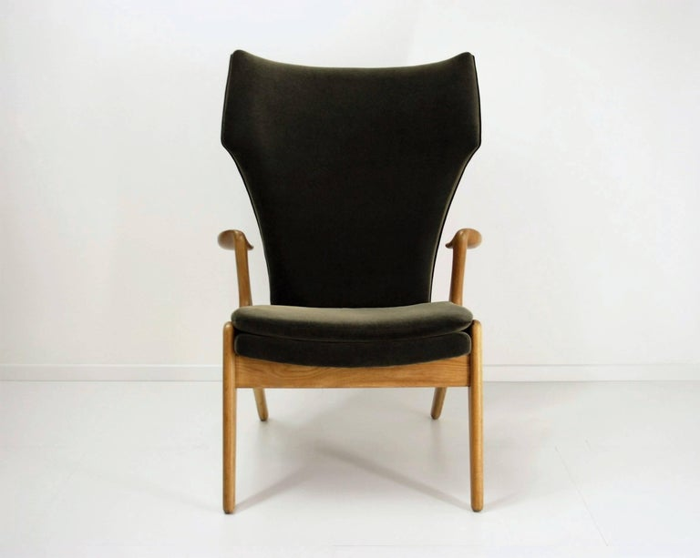 Kurt Ostervig High Back Lounge Chair, 1960s For Sale 2