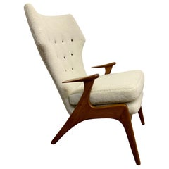 Kurt Ostervig High Back Lounge Chair