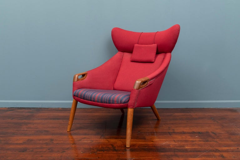 Scandinavian Modern Kurt Ostervig Lounge Chair For Sale