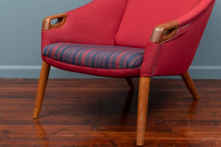 Danish Kurt Ostervig Lounge Chair For Sale