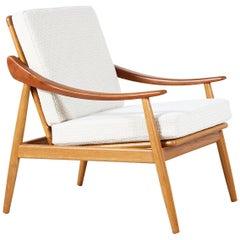 Kurt Ostervig Model-301 Reclining Lounge Chair for Jason Møbler