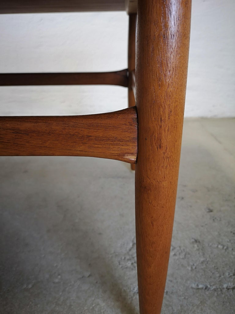 Danish Kurt Ostervig Teak Coffee Table for Jason Möbelfabrik For Sale