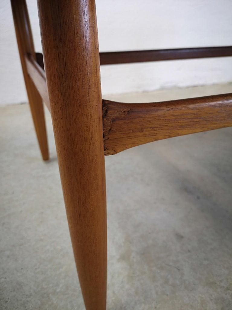 Kurt Ostervig Teak Coffee Table for Jason Möbelfabrik In Good Condition For Sale In Langserud, SE