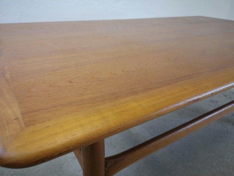 Mid-20th Century Kurt Ostervig Teak Coffee Table for Jason Möbelfabrik For Sale