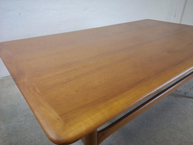Kurt Ostervig Teak Coffee Table for Jason Möbelfabrik For Sale 1