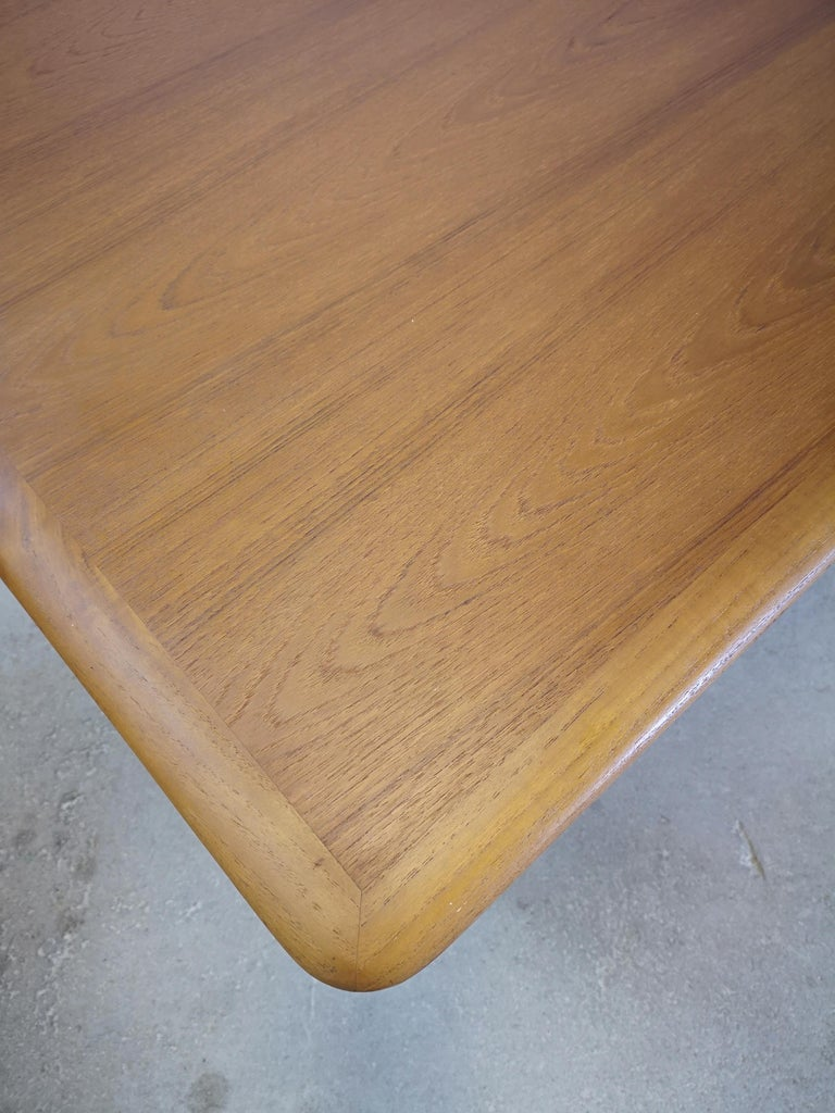 Kurt Ostervig Teak Coffee Table for Jason Möbelfabrik For Sale 2