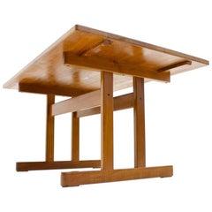 Kurt Ostervig Teak Dining Table by KP Mobler, 1960s