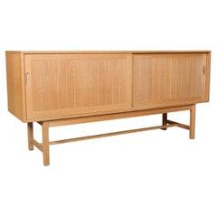 Kurt Østervig Cabinet in Partly Solid Oak