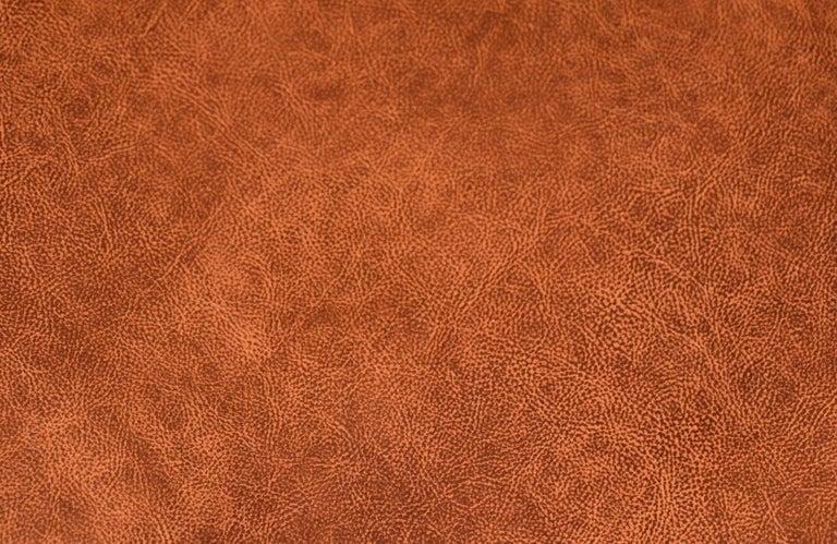 Kurt Østervig Cognac Leather Wing Chairs for Rolschau Møbler For Sale 8
