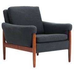 Kurt Østervig Danish Modern Lounge Chair in Rosewood