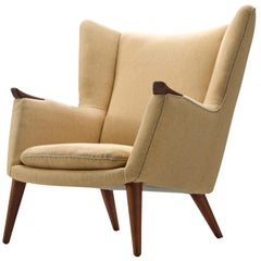 Kurt Østervig Danish Wingback Chair