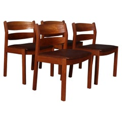 Kurt Østervig for FDB, Set of Four Chairs