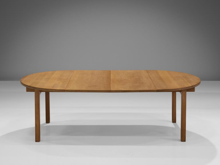Kurt 216 Stervig Oak Dining Table By Kp M 248 Bler For Sale At