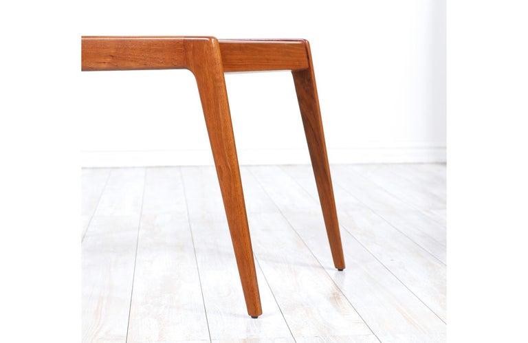 Kurt Østervig Sculpted Teak Side Tables for Jason Møbler For Sale 2