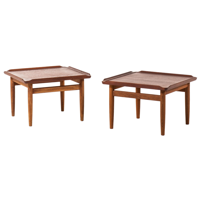 Kurt Østervig Side Tables Produced by Jason Møbler in Denmark