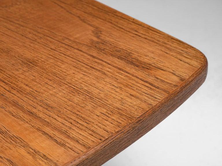 KurtØstervig 'Surfboard' Coffee Table in Teak For Sale 4