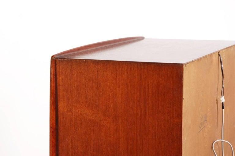 Kurt Østervig Teak and Oak Bar Cabinet, 1940s For Sale 4