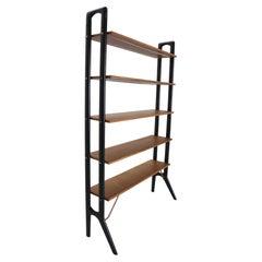 Kurt Østervig Teak Free Standing Bookshelf or Room Divider, 1960's Denmark