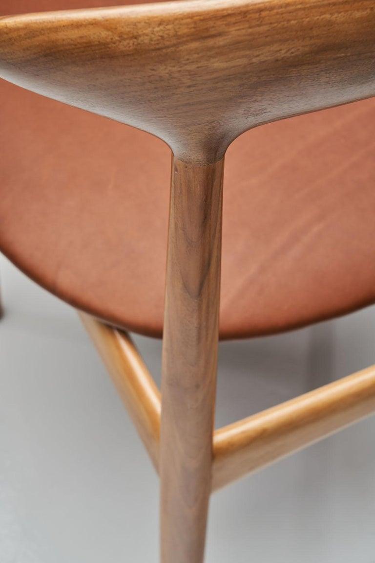 Kurt Østervig Walnut Dining Chair, Denmark, 1950s For Sale 3
