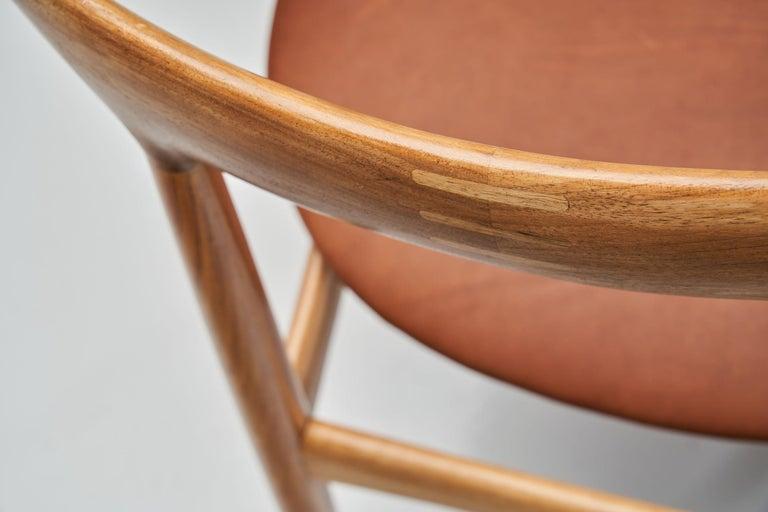 Kurt Østervig Walnut Dining Chair, Denmark, 1950s For Sale 4