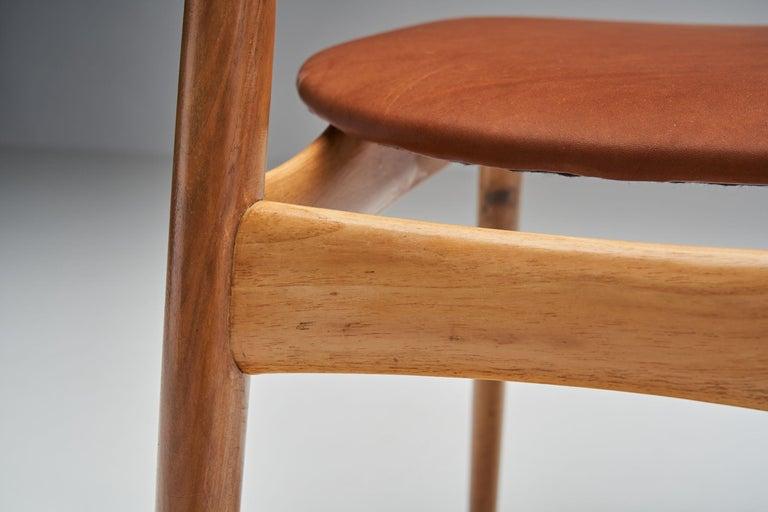 Kurt Østervig Walnut Dining Chair, Denmark, 1950s For Sale 5