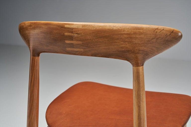 Kurt Østervig Walnut Dining Chair, Denmark, 1950s For Sale 6