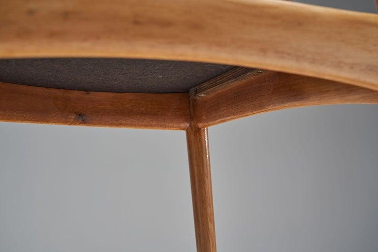 Kurt Østervig Walnut Dining Chair, Denmark, 1950s For Sale 7