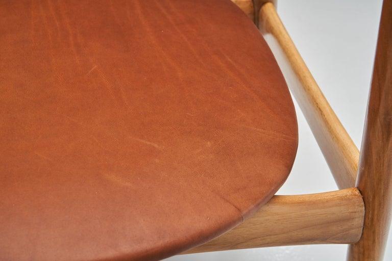 Kurt Østervig Walnut Dining Chair, Denmark, 1950s For Sale 8