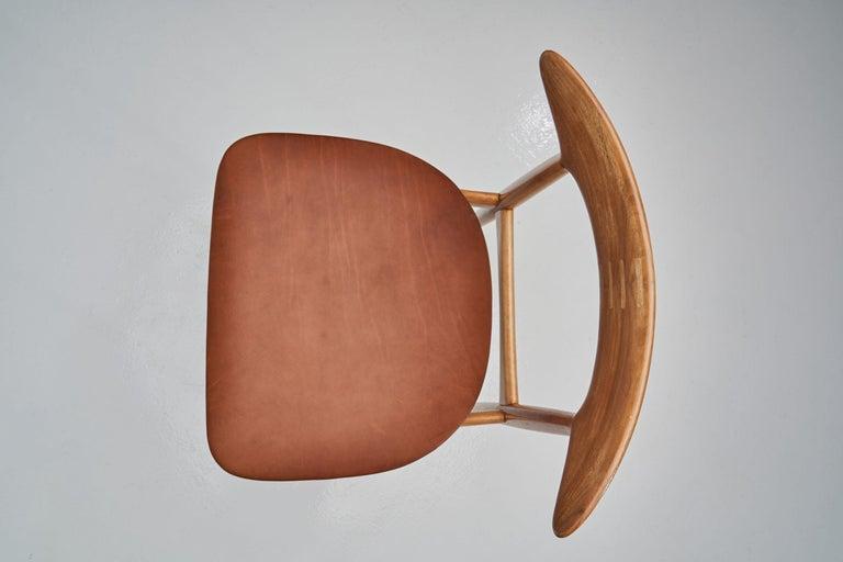 Kurt Østervig Walnut Dining Chair, Denmark, 1950s For Sale 9
