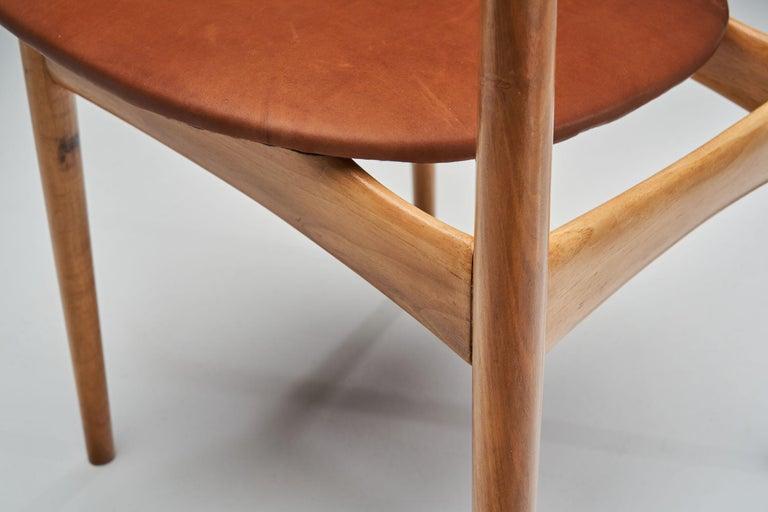 Kurt Østervig Walnut Dining Chair, Denmark, 1950s For Sale 10