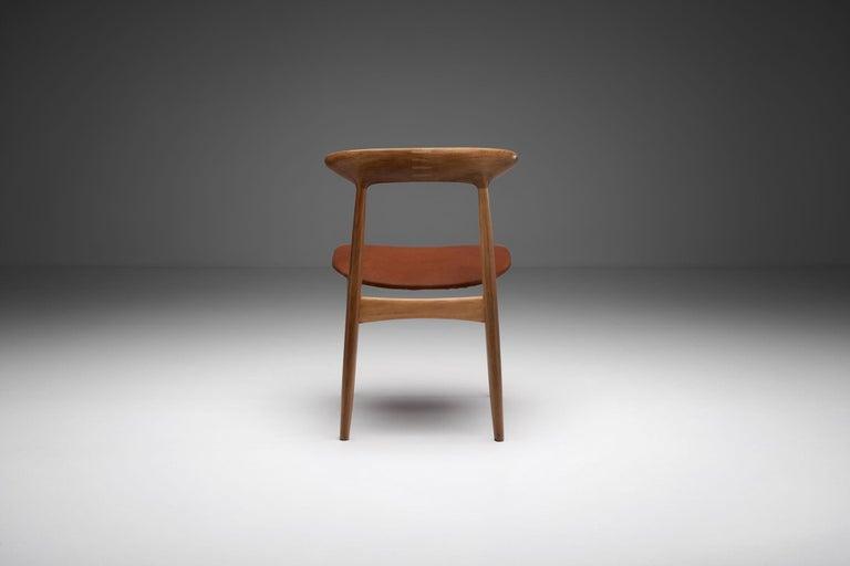Danish Kurt Østervig Walnut Dining Chair, Denmark, 1950s For Sale