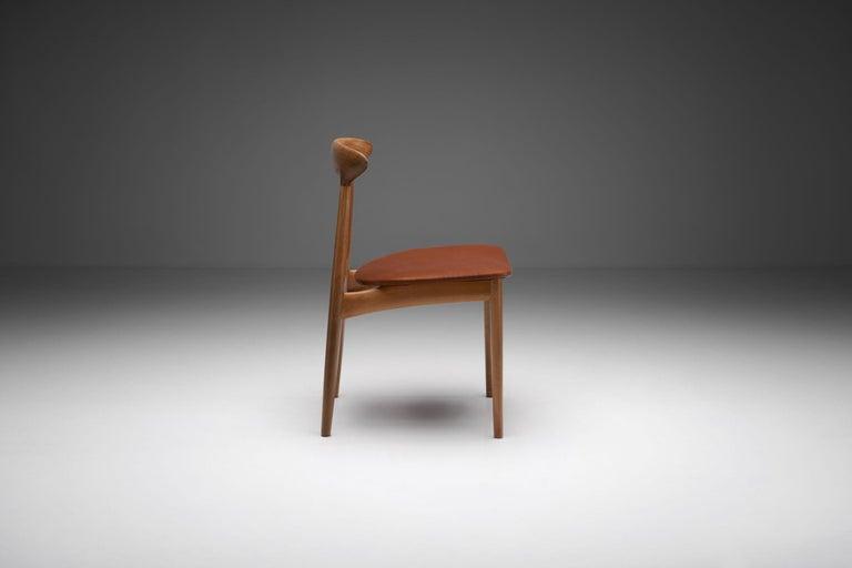 Kurt Østervig Walnut Dining Chair, Denmark, 1950s In Good Condition For Sale In Utrecht, NL