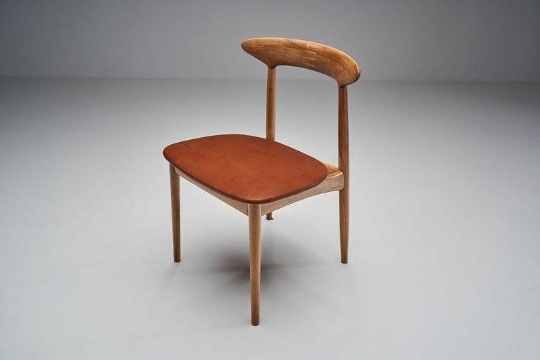 Kurt Østervig Walnut Dining Chair, Denmark, 1950s For Sale 2