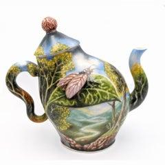 Teapot - Floral Design